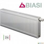 Радиатор стальной BIASI 22VК 300*2800 нижнее подключение