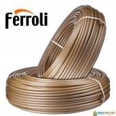 Труба для теплого пола Ferroli PEX-A с кислородным барьером и слоем EVOH (Италия)