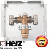 Комплект регулирующий  для напольного отопления, для скрытого монтажа HERZ-FLOORFIX