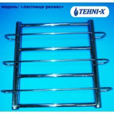 Водяной полотенцесушитель Tehni-x Релакс высота 50 см, межосевое расстояние 50