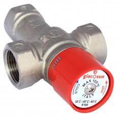 Термостатический смесительный клапан Giacomini для горячего водоснабжения 38-60 °С 1''
