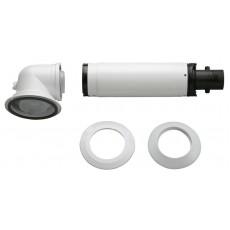 Стандартный коаксиальный дымоход для конденсационных котлов