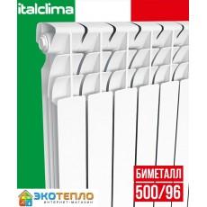 Радиатор биметаллический  Italclima Ferrum 500/96