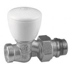 """Ручной проходной клапан Giacomini, хром. 1/2"""" X16"""
