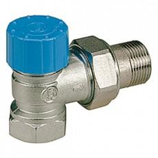 """Угловой термостатический клапан Giacomini (подключение термостатической головки - резьба 30х1,5мм). Увеличенный проход для размера 3/4"""""""