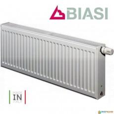 Радиатор стальной BIASI 22К 300*400 боковое подключение