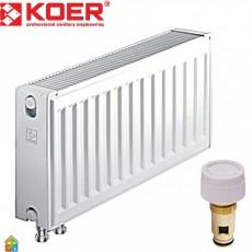 Радиатор стальной 22VК 300*400 KOER