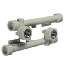 Колено ASG двойное 90*20*1/2 в- планка для смесителя