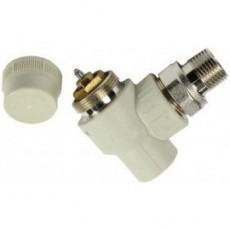 Кран ASG термостатический угловой 20*1/2 - под термоголовку