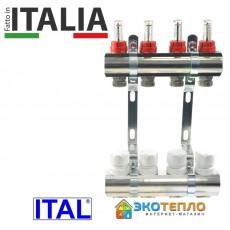 Коллектор для теплого пола ITAL на 10 контуров