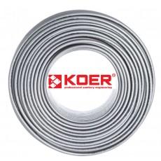 Труба для теплого пола KOER PEX-A EVOH 16*2,0 (SILVER)