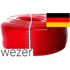 Труба для теплого пола Wezer PE-RT с кислородным барьером