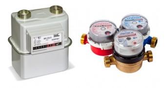 Счетчики газа и воды