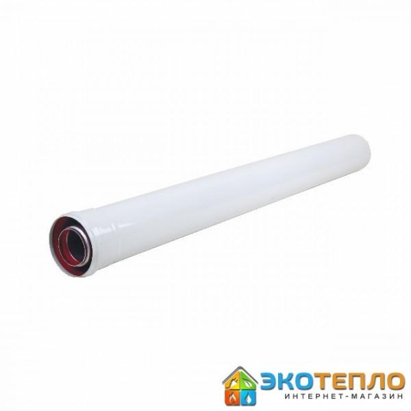 Коаксиальный удлиннитель 80/125/1м для подключения дымохода конденсационного котла