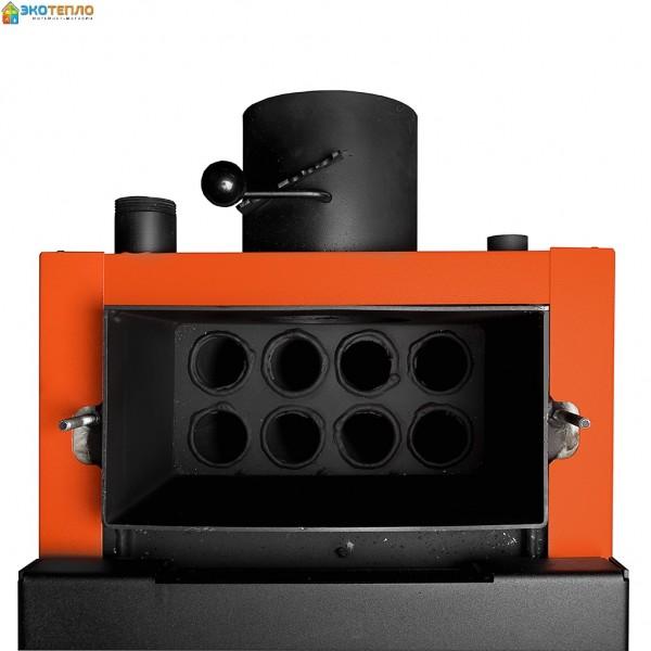 Котел на твердом топливе для отопления 10 кВт длительного горения