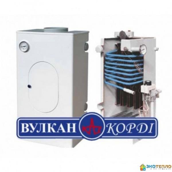 Аппарат отопительный газовый водяной Вулкан Корди 9ПЕ (Парапетный)