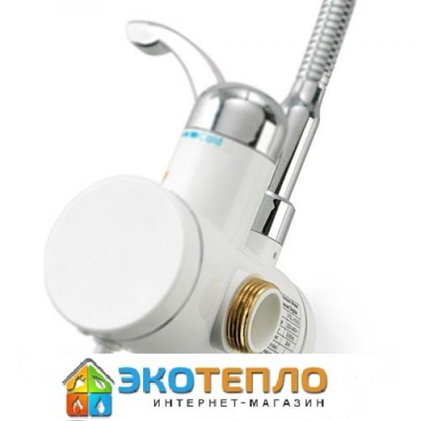 Водонагреватель проточный с дисплеем Delimano 3 кВт кран+душ