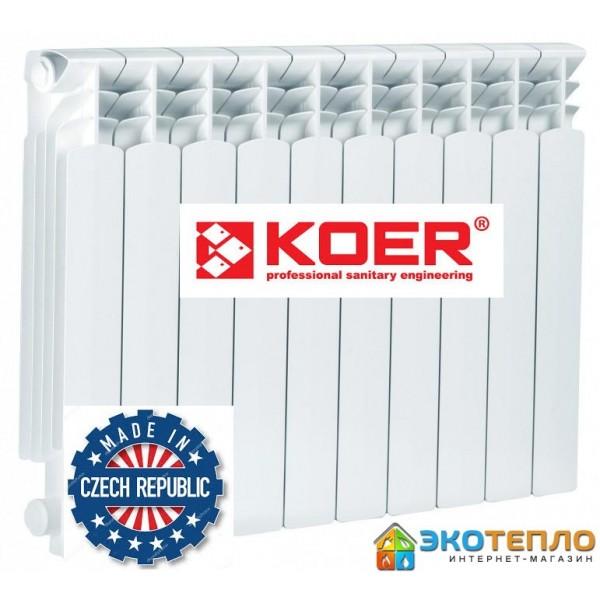Радиатор биметаллический  KOER 500/100
