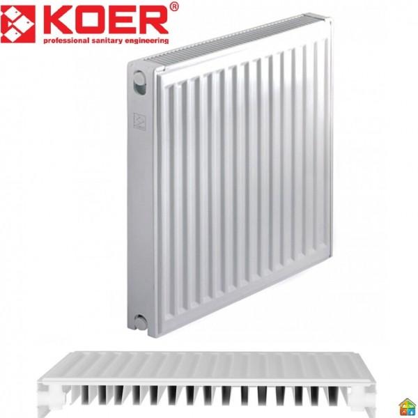 Радиатор стальной 11К 500*600 KOER