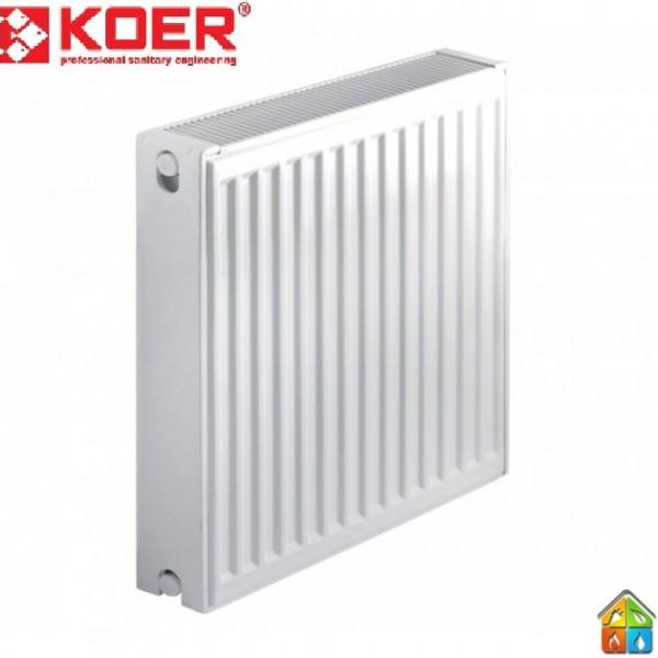 Радиатор стальной 22К 500*600 KOER