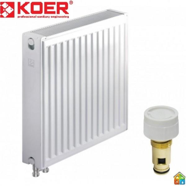 Радиатор стальной 22VК 500*1000 KOER