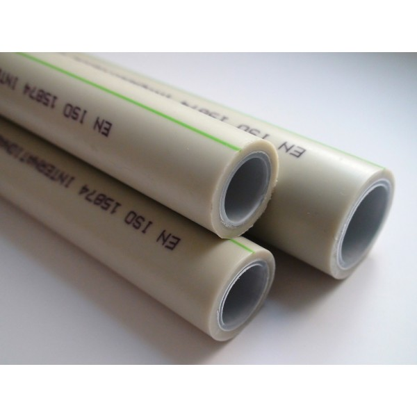 Труба ASG Nano Ag композит d25 (алюминиевый слой, незачистная)