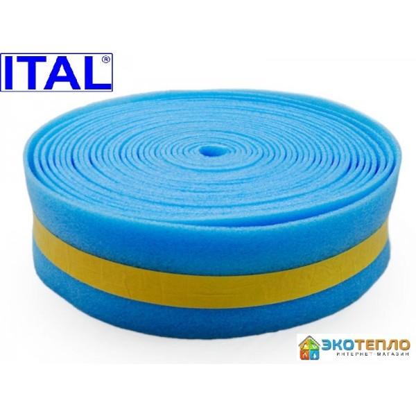 Демпферная лента ITAL для теплого пола 50/8МТ