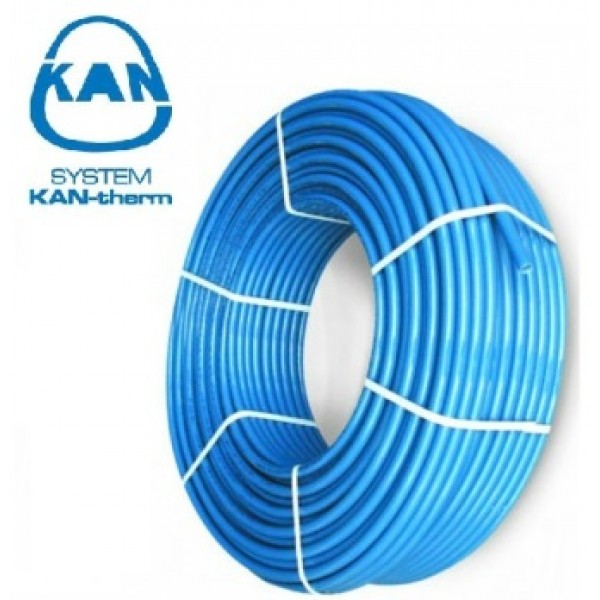 Труба для теплого пола KAN-THERM Blue Floor PE-RT 16 мм