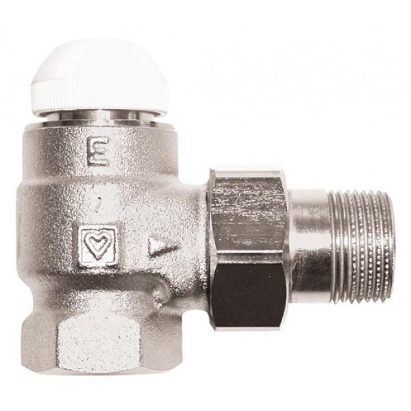 """Термостатический клапан HERZ-TS-E, угловой 1"""""""